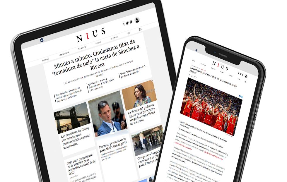 NIUS: El nuevo diario digital de Mediaset que nace para ofrecer una información a medida