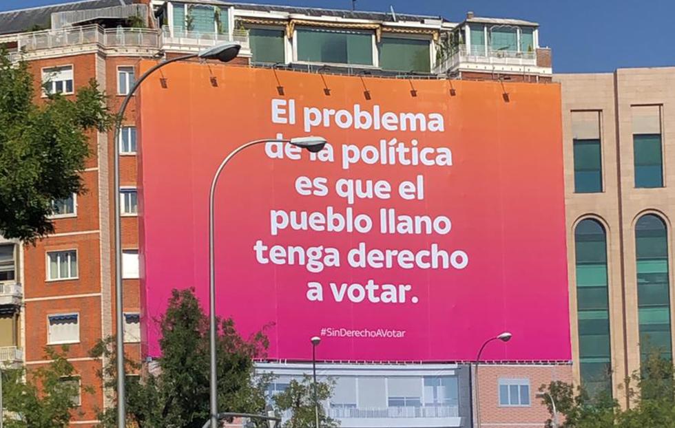 Cuando la política se cuela en las campañas publicitarias